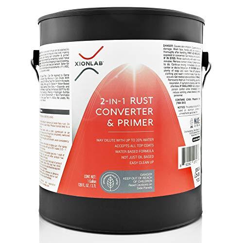 XIONLAB 2 in 1 Rust Converter & Metal...