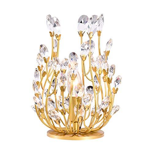Lampara Mesa Salon Tabla transparente de cristal de la lámpara decorativa mesita...