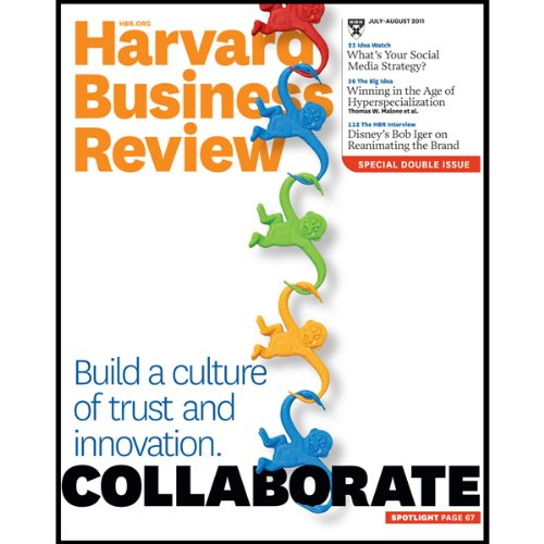 Harvard Business Review, July 2011 audiobook cover art