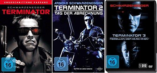TERMINATOR 1 2 3 Uncut ARNOLD SCHWARZENEGGER 3 DVD Collection
