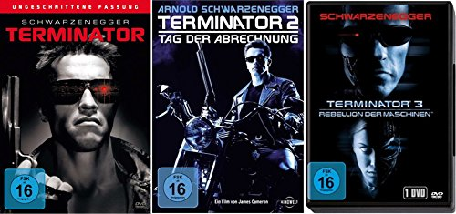 TERMINATOR 1 2 3 Uncut ARNOLD SCHWARZENEGGER 3 DVD Collection