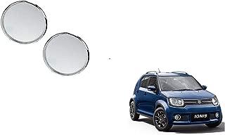 Autoladders Chrome Blind Spot Mirror Set of 2 for Maruti Suzuki Ignis