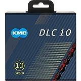KMC DLC 10 チェーン 10S/10速/10スピード 用 116Links (レッド) [並行輸入品]