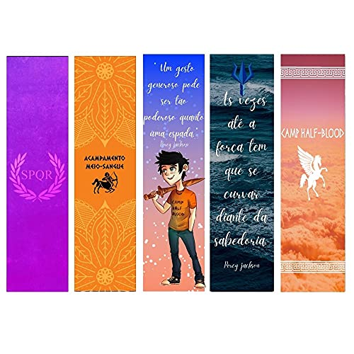 Kit de Marcadores de página - Percy Jackson (5un)