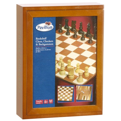 Cardinal Industries Classic Chess and Checkers