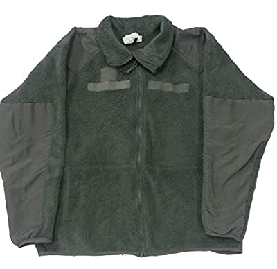 Military Outdoor Clothing Previously Issued Foliage Polartec Fleece Jacket (Large/Regular)