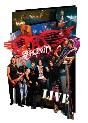 Pyramid International Aerosmith Live 3D lenticolare