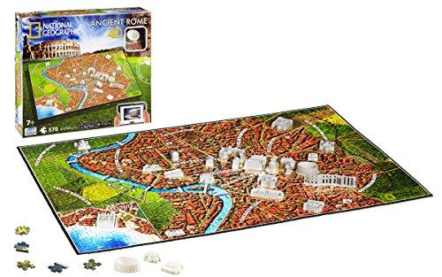 Eleven Force - Puzzle 4D civilizaciones Antiguas, diseño Roma (10046)