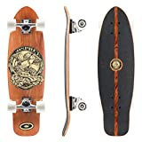 Osprey TY5343 Mini Cruiser 'In Skate We Trust' - Skateboard, color marrón, talla UK: 27 3/4 Inch