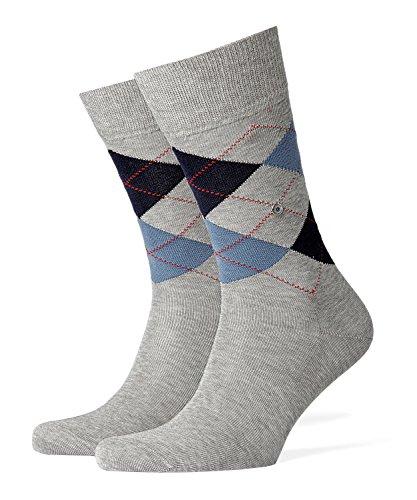 Burlington Herren Manchester M SO Socken, Blickdicht, Grau (Faggy Dew 3619), 40-46