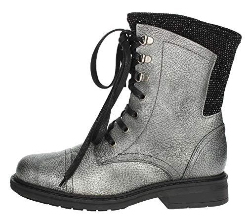 ARLEE MOD L282 - Botas de mujer con cordones grises Size: 41 EU