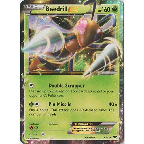 Pokemon - Beedrill EX (XY157) - XY Black Star Promos - Holo