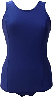 前面スカート付きスクール水着L 女子用1210000(スクール水着ワンピース型)08紺