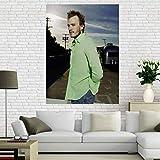 WHMQJQ Leinwand Malerei Schauspieler Star Heath Ledger