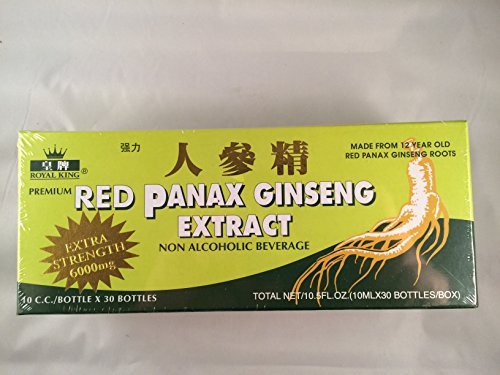 Royal King - Red Panax Ginseng Extract 6000mg (30...