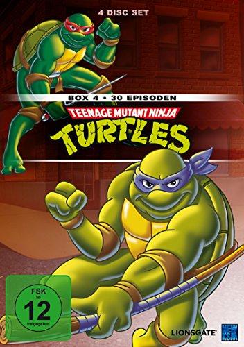 Teenage Mutant Ninja Turtles - Box 4 [4 DVDs]