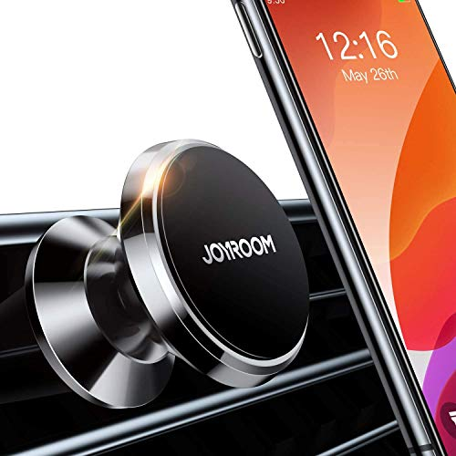 Magnetic Phone Car Mount【6 Powerful Rare-Earth Magnets】 Joyroom Air Vent Cell Phone Holder for Car【Case Friendly】 Universal Car Cradle Fit for iPhone SE 11 Pro Max X XS XR 8 Plus and All Phones