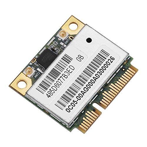 Fdit AR9280 AR5BXB92 300 M Mezza Scheda PCI-E WLAN Card 5G Scheda connessione Wi-Fi a Doppia Banda LAN Wireless per Notebook