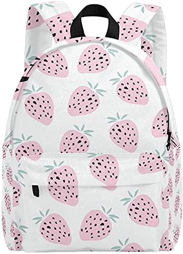 Mochilas para niñas para la Escuela Pink Lindo Rabit Kid's Backpacks Rucksack Mochila Escolar Escolar Bolsas (Color : Multi12)