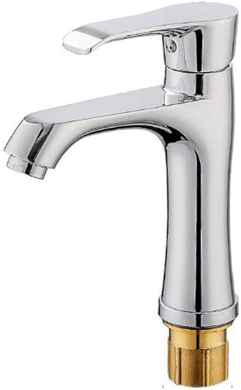 Glz Tap Faucet Copper core Faucet aggravated Basin Faucet hot and Cold Single Hole Faucet