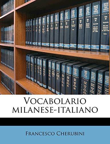 Vocabolario Milanese-Italiano
