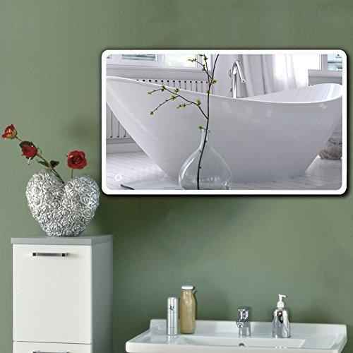 badkamerspiegel LED badkamerspiegel Verlichte badkamerspiegel wandspiegel (ronde hoek, 120x70cm)
