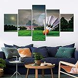 37Tdfc modern Design Poster Zimmer Dekoration Badminton 5