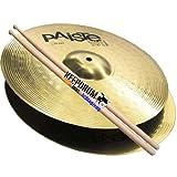 PAISTE 101 Hi Hat Becken 13' + 5A KD Drumsticks