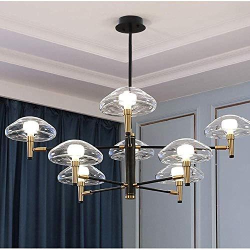 G9 de la lámpara de techo de latón de latón del siglo G9 de la lámpara colgante de la lámpara del comedor de la lámpara del del dormitorio de la sala de estar 12 luces 105x75cm (41x30 pulgadas)