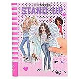 Depesche-DP-0010559 Libro para Colorear TopModel Stand Up, con Figuras de cartón, Aprox. 21,5 x 16,5 x 1,7 cm Color (10559)