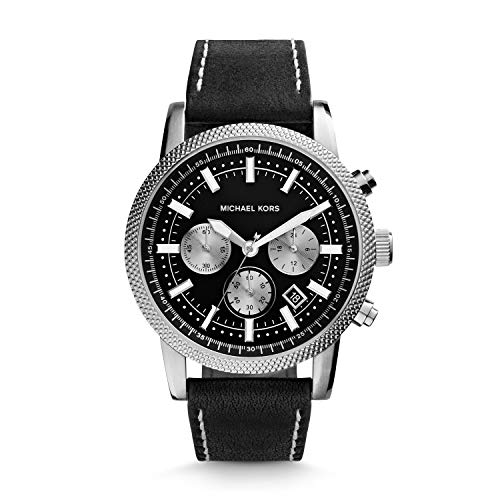 Price comparison product image Michael Kors Silver-Tone Scout Men's Watch