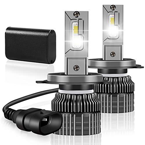Taotuo 9005/HB3/H10 LED Headlight Bulbs,64W 10000 Lumens Super Bright LED Headlights Conversion Kit 6500K Cool White IP68 Waterproof, Pack of 2 (9005/HB3/H10)