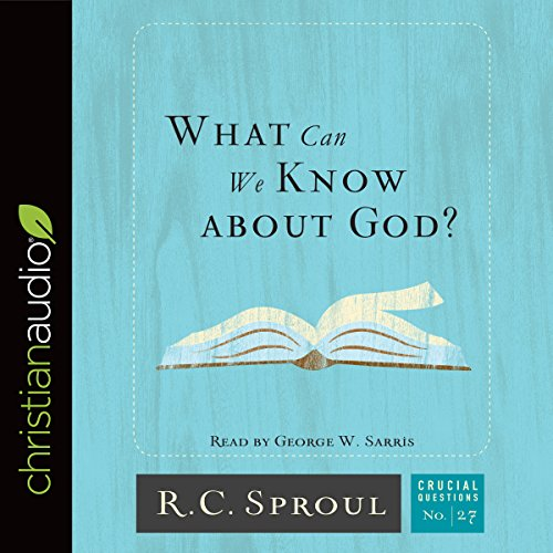 Bargain Audio Book - What Can We Know About God