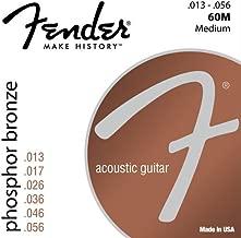 Best fender acoustic strings Reviews