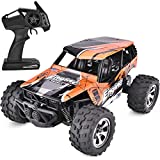 SIMREX A231 Rc Cars High Speed 20km/H Scale RTR Remote Control Brushed Monster Truck Off Road Car Big Foot Rc 2WD Electric Power Buggy W/2.4G Challenger Orange