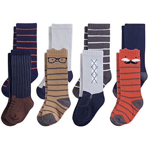 Hudson Baby Unisex Baby Cotton Rich KneeHigh Socks Handsome Fox 06 Months