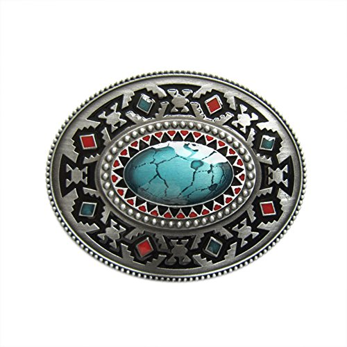 New Vintage Style Celtic Oval Southwest Belt Buckle also Stock in the US