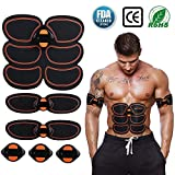 Abs Stimulator, Muscle Toner - Abs Stimulating Belt- Abdominal Toner- Training...