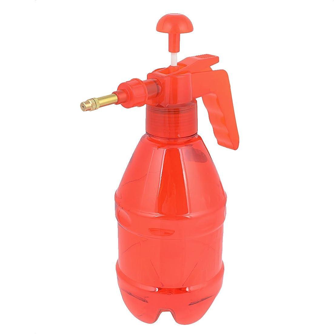 国家知的クラッシュuxcell 圧力噴霧器 ボルト クリアレッド 自動車 プラスチックハンドル 水やり プレース 0.8L