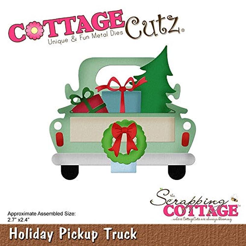 CottageCutz CC496 Dies-Holiday Pickup Truck 2.7