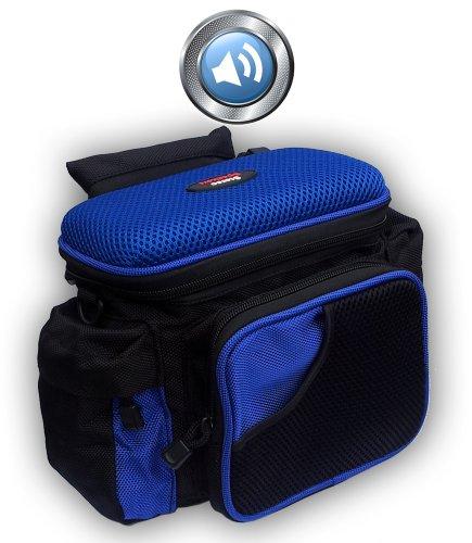 Fietstas - stuurtas met luidspreker + versterker voor iPod, mobiele telefoon, MP3