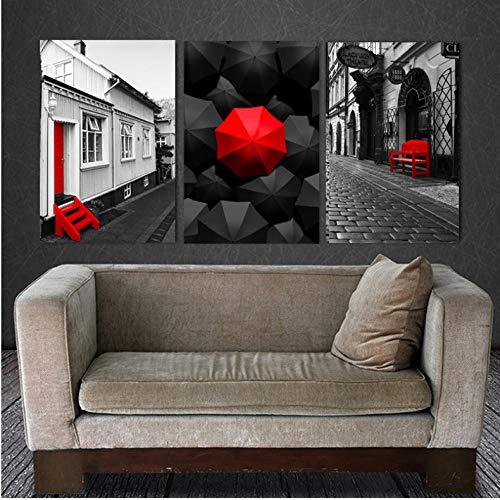 ARTTONIT Cuadro impresionista del Arte de la Lona para la