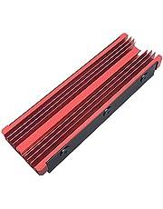 M.2ヒートシンク合金アルミニウムNGFFヒートシンクNVME冷却シンク2280 M.2 SSD用M.2 SSDクーラーセット