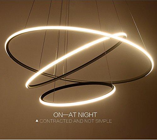 Saint Mossi Esclusivo design moderno a sospensione con lampadario a sospensione a LED Tania Trio Collezione Contemporaneo a sospensione con pendente H120cm X L80cm X W80cm