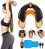 EMS Fessier Hanche,Hip Stimulator Trainer,Electrostimulateur Musculaire Fesser,Hips Trainer Massage Ceinture Home Office Gym Workout Équipement pour Fesse/Jambes Formation Hommes Femmes