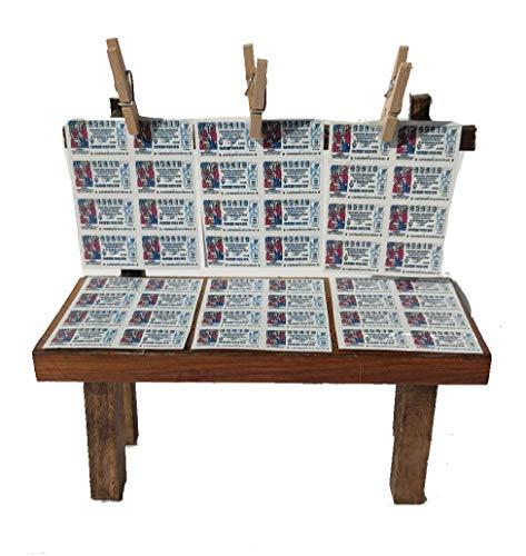 JSG Puestos de Venta para Belenes, Nacimientos Decoracion de Portales de Belen 15X8X13cm (Puesto Loteria)