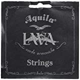Aquila USA 115U Low G Tenor Uke Set - All Lava Nylgut