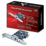 Vantec UGT-S110 Scheda Audio PCIe 7.1, Nero