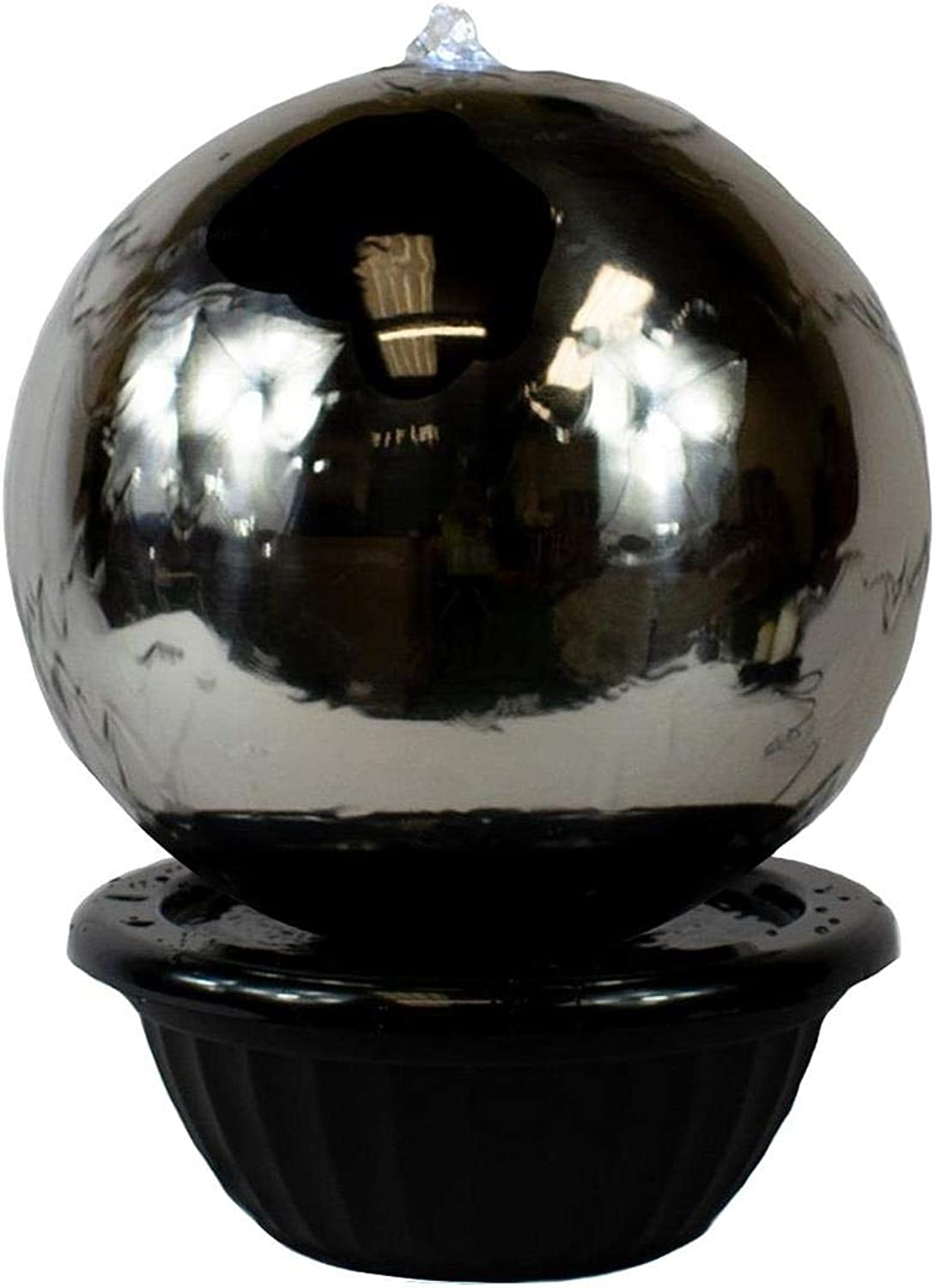 75cm Sphere Stainless Steel Water Feature