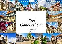 Bad Gandersheim Impressionen (Wandkalender 2022 DIN A4 quer): Die Kurstadt Bad Gandersheim festgehalten in zwoelf wunderschoenen Bildern (Monatskalender, 14 Seiten )